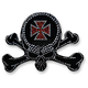 Iron Skull Helmet Bling - PCHBIRONS