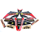 Red Honda Rockstar Energy Shroud and Complete Graphics Kit - 19-07320