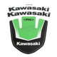 Kawasaki Front Fender Graphic Kit - 19-30126