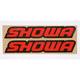 Showa Fork and Swingarm Stickers - 27049