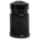 Black Anodized Round Valve Stem Cap - SVC-307-ANO