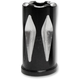 Black Anodized Rival Stem Cap Cover - SVC-311-ANO-RIV