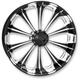 Front Platinum Cut 23 x 3.2 Revel One-Piece Chrome-Forged Aluminum Wheel - 12047306PRELBMP