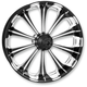 Front Platinum Cut 23 x 3.5 Revel One-Piece Chrome-Forged Aluminum Wheel - 12227306PRELBMP