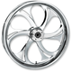 17 in. x 6.25 in. Rear Chrome Recoil One-Piece Forged Aluminum Wheel - 17625-9210-105C