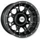 Black Diablo 12 x 7 Wheel - 991-25B