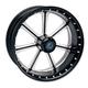 21 in. x 3.5 in. Diesel One-Piece Contrast Cut Aluminum Wheel - 12027106DIE-JBM