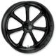 21 in. x 3.5 in. Diesel One-Piece Black Ops Aluminum Wheel - 12027106DIEJSMB