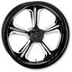Front Platinum Cut 21 x 3.5 Wrath One-Piece Chrome-Forged Aluminum Wheel - 12027106WRAJBMP