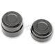 Black Rear Billet Axle Cap And Nut - 0214-0833
