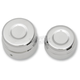 Chrome Rear Billet Axle Cap And Nut - 0214-0834