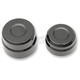 Black Rear Billet Axle Cap And Nut - 0214-0835