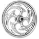 Chrome 18 x 3.50 Savage Front Wheel (w/ABS) - 18350-9002-85C