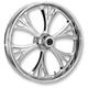 Chrome 16 x 5.50 Majestic Rear Wheel (Non-ABS) - 16550-9051-102C