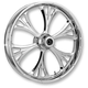 Chrome 17 x 6.25 Majestic Rear Wheel (Non-ABS) - 17625-9051-102C