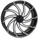 Platinum Cut 23 in. x 3.5 in. Supra Front Wheel for Models w/ ABS (dual disc) - 12047306RSUPBMP