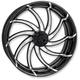 Platinum Cut 18 in. x 5.5 in. Supra Rear Wheel for Models w/o ABS - 12707814RSUPBMP
