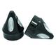 Black Anodized Spike Axle Nut Covers - AXL-SPK-ANO-TOU