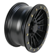 Black Ops 14 in X 7 in. SD Series Alloy Dual Beadlock Wheel - 14SDB19BX