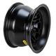 Matte Black 12 in. X 7 in. SS216 Alloy Black Ops Wheel - 1228535536B