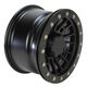 Matte Black 12 in. X 7 in. SD Alloy Beadlock Black Ops Wheel - 1228546536B