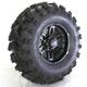 Rear Left Matte Black 26X11-12 Slingshot Tire/Wheel Kit - 2017-011L