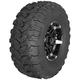 Rear Machined Black Radial Pro A/T 26x11-14 Tire/Wheel Kit  - 4022-011R