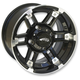 Roll 'In Machined Black 14x7 Wheel - 4733-031AB