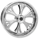 Chrome 21 x 3.5 Single Disc Majestic Front Wheel (w/ABS) - 21359032A14102C