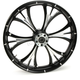 Black 21 x 3.5 Dual Disc Majestic Eclipse Front Wheel (w/o ABS) - 21350-9031-102E