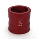 Red Front Wheel Spacer - 44-0102-00-10
