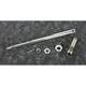 Chrome Front Axle Kit - 44-0568