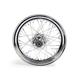 Chrome 16x3.00 40 Spoke Front Wheel - 51644