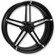 Front Platinum Cut 21 x 3.5  Formula One-Piece Aluminum Wheel - 1202-7106R-FRMAJ-BMP