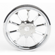 Image Hooligan Chrome-Forged Aluminum Pulley - 0093-0270HOOL-C