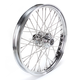 Front Chrome 21 x 2.15 40-Spoke Laced Wheel Assembly for Single Disc - 0203-0057