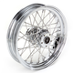 Rear Chrome 16 x 3.5 40-Spoke Laced Wheel Assembly - 0204-0059