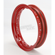 Red  16 x 3 40-Spoke Stock Replacement Rim for 36-80 Models