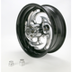 Black 18 x 8.5 Eclipse Savage One-Piece Wide Tire Wheel for GSX1300R Hayabusa Custom Application - SU1885050-85E