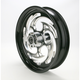 Front Black 17 x 3.5 Eclipse Savage One-Piece Wheel - SU1735046-85E