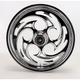 Front Chrome 18 x 3.5 Savage One-Piece Wheel - 18350-9916-85C