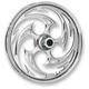 Chrome 21 x 3.5 Savage One-Piece Wheel for Single Disc - 21350-9935-85C