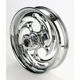 Rear Chrome 16 x 3.5 Savage One-Piece Wheel - 16350-9950-85C