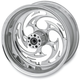 Rear Chrome 18 x 4.25 Savage One-Piece Wheel - 18425-9974-85C