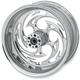 Rear Chrome 17 x 6.25 Savage One-Piece Wheel - 17625-9209-85C