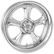 Chrome 21 x 3.5 Wrath One-Piece Wheel for Models w/o ABS - 1202-7106R-WRA