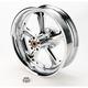 Chrome 18 x 5.5 Wrath One-Piece Wheel for Models w/o ABS - 12707814RWRA-CH
