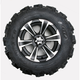 Rear Left Mud Lite XTR Tire/SS312 Alloy Wheel Kit - 44287L