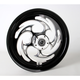 Black 16 x 3.5 Savage Eclipse One-Piece Wheel - 16350-9917-85E