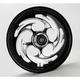 Black 16 x 3.5 Savage Eclipse One-Piece Wheel - 16350-9916-85E